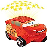 Pillow Pets Disney Pixar Cars Cars 3 Lightning McQueen Dream Lites Stuffed Animal Night Light (Color: Lightning Mcqueen, Tamaño: 16in X 16in)