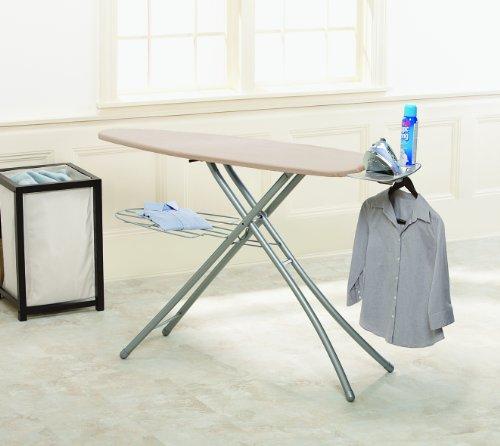 Homz 4760211 Professional Ironing System Platinum Leg Khaki