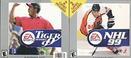NHL 99 / Tiger Woods 99 PGA Tour Golf (Jewel Case)