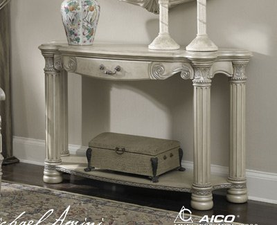 Cheap Monte Carlo II Silver Pearl Console Table – Aico N53223-03 (N53223-03)