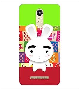 PrintDhaba cartoon D-3601 Back Case Cover for XIAOMI REDMI NOTE 3 (Multi-Coloured)