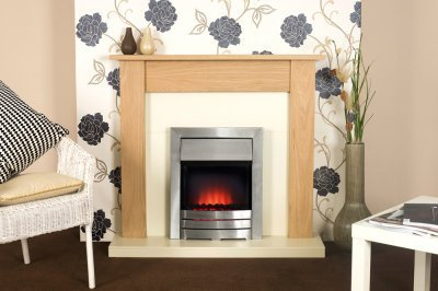 Adam Southwold Fireplace Suite With Colarado Electric Fire