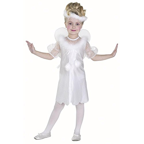 Child's Toddler White Angel Christmas Costume (1-2T)