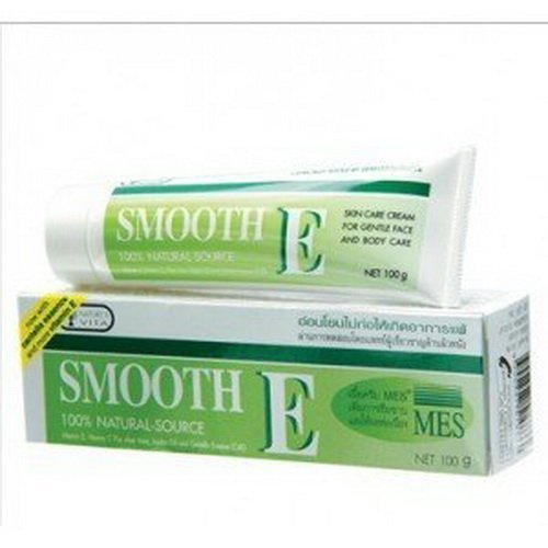 Smooth E Cream Anti-Aging Wrinkle Fade Acne Scars Spots (40 G.)