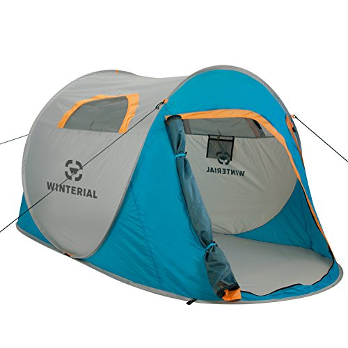 Winterial-2-Person-Instant-POP-UP-Tent-Perfect-for-Camping-Festivals-Over-Night-Trips-Quick-Portable