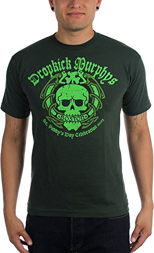 DROPKICK MURPHYS -  T-shirt - Donna Green Forest Medium