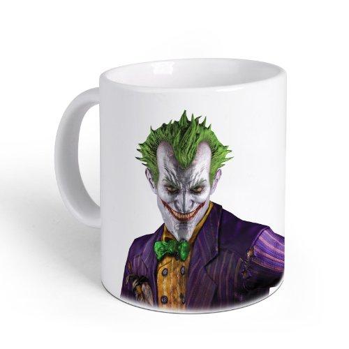 Batman Arkham City - Tazza in Ceramica - Tazza con stampa del Joker
