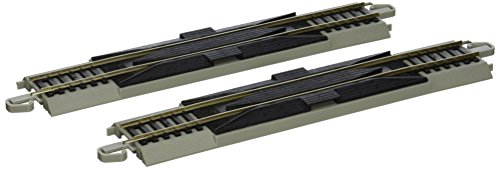"Bachmann Trains Snap-Fit E-Z Track 9"" Straight Rerailer (2/card)"