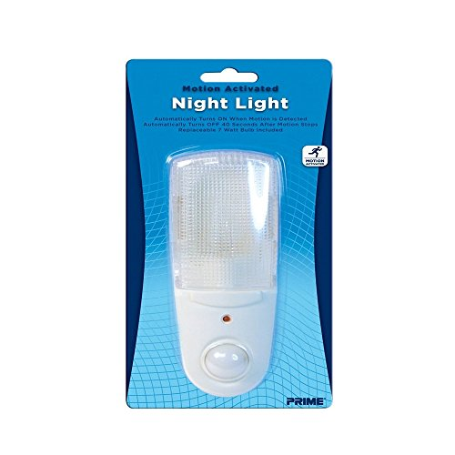 Prime Wire & Cable Nlama26 Night Light With Motion Sensor And Photo Sensor, 1-Pack