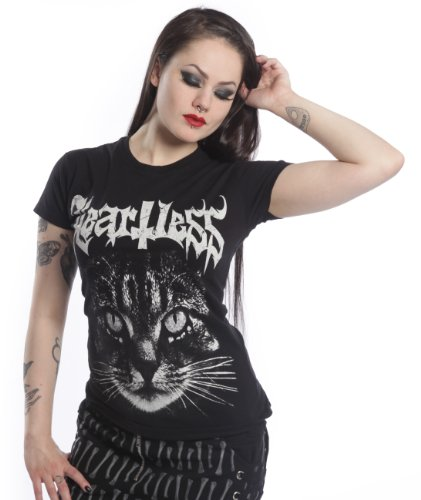 Heartless Clothing -  T-shirt - Donna nero X-Large