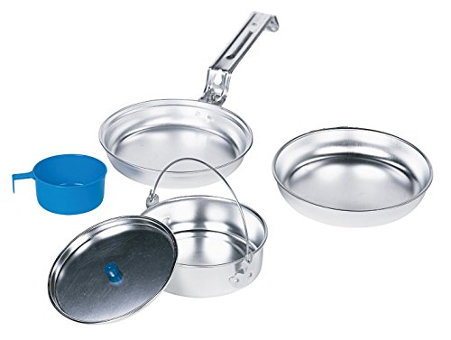 Texsport Aluminum Mess Kit (5-Piece)