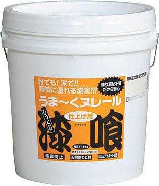 日本プラスター うま?くヌレール 18kg 白色 12UN21_5145