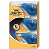 BIC Wite-Out EZ Correct Correction Tape, 6 pk