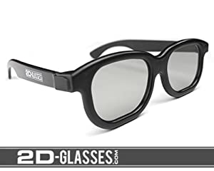 Hank Green's 2D-Glasses: Turns 3D movies back to 2D from 2D-Glasses