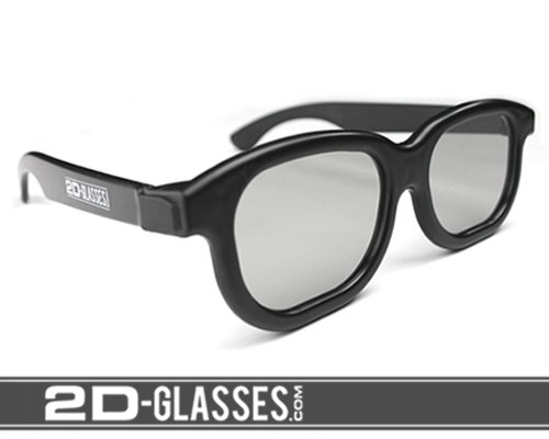 Hank Green's 2D-Glasses: Turns 3D movies back