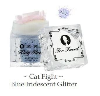 Too Faced Kitty Glitter - Cat Fight - Iridescent Blue