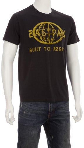 Eastpak Harper Printed Men's T-Shirt Black Globe Small