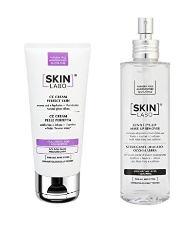 Skinlabo Kit Facial 2 Piezas Golden Sand Medium/Dark 30+200 ml