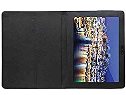 Stylabs Tablet Book Flip Case Cover For iBall Slide Q1035 3G / 1035 - Black