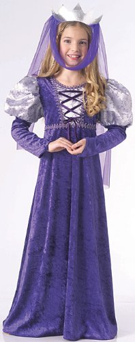 Child's Renaissance Queen Costume Size Small (4-6)