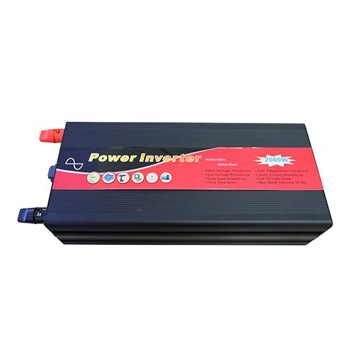 Gtsun 2000W Pure Sine Wave Power Inverter 4000 Peak Power Converts 12V Dc To Ac With Usb Output