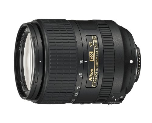 Nikon AF-S DX NIKKOR 18-300mm f/3.5-6.3G ED Vibration Reduction Zoom Lens with Auto Focus for Nikon DSLR Cameras