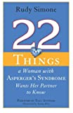 img - for 22 Things a Woman with Asperger's Syndrome Wants Her Partner to Know book / textbook / text book