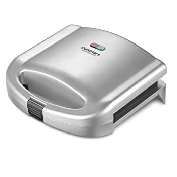 The Cuisinart Sandwich Grill does more than lunch. This versatile Cuisinart product also makes omelets and French toast. Designed to grill two items at a time, it is perfect for breakfast, lunch, or light dinners. Dual indicator lights ensure nothing...