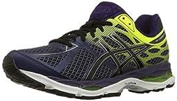 ASICS Men\'s Gel Cumulus 17 Running Shoe, Indigo Blue/Black/Flash Yellow, 9.5 M US