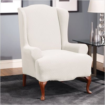 Wing chair slipcovers white our reviews and update latest price for