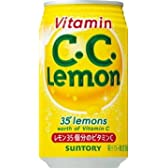 [2CS] サントリー C.C.レモン (350ml 缶×24本)×2箱