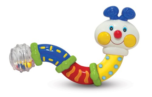 Melissa & Doug K's Kids Twisting Inchworm Rattle