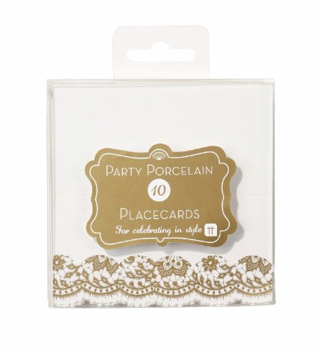 party-porcelain-place-cards-pack-of-10-gold