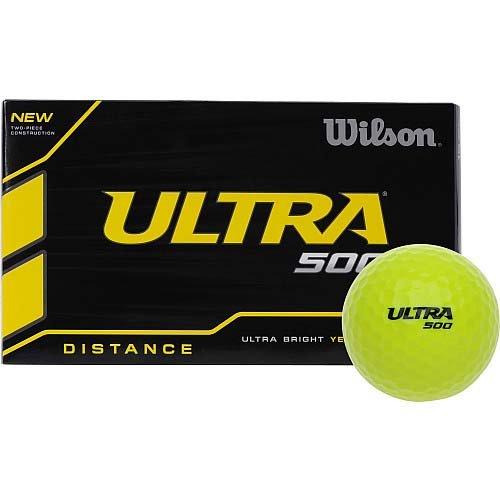 Wilson(ウイルソン) Ultra 500 Distance イエロー 15P 並行輸入品 Ultra