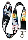 Lady Gaga Lanyard Keychain Holder