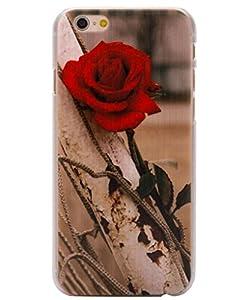 Unendlich U Schmuck schön Rose Painting mit matt Handy Schutz Hülle für iPhone 6 4,7 Zoll