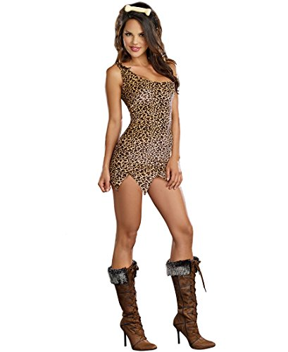 Cave Girl Costume - X-Large - Dress Size 14-16 (Caveman And Cavewoman Costumes)