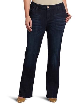(新品)Lee女装宽腿牛仔裤(微喇裤型) 仅售$31.90
