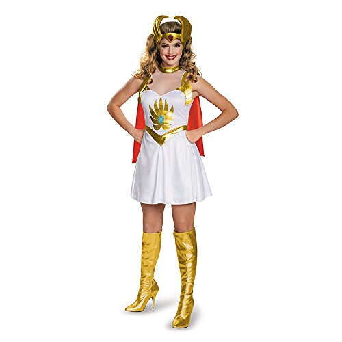 She-Ra Classic 80s Costume for Women with Headpeice. Officially Licensed