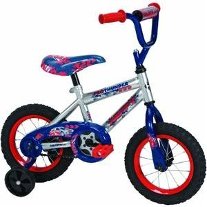 Huffy Boy's Pro Thunder Bike (12-Inch, Silver/Blue)