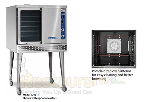Imperial Commercial Convection Oven Single Deck Standard Depth Electric Model Icve-1