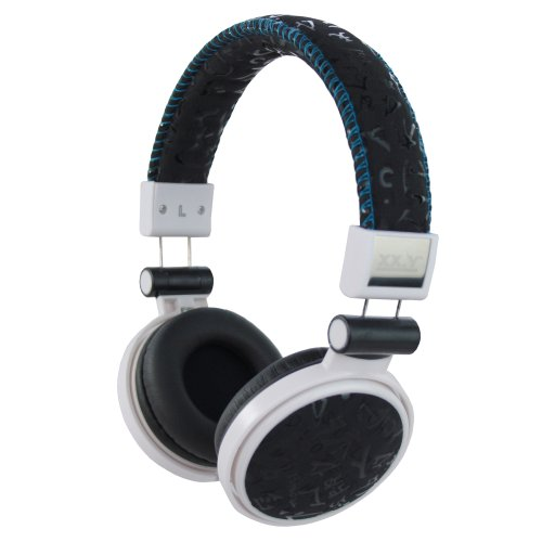 Xx.Y Top Sound Stereo On-Ear Headphones Suede Black