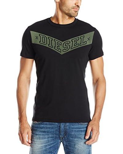 Diesel T-Shirt Manica Corta T-Noem  [Nero]