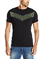 Diesel Camiseta Manga Corta T-Noem (Negro)