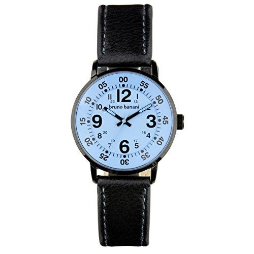 Bruno Banani wrist watch Moro Leather Watch Analog BR30015