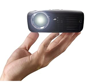 AAXA M2 Pico/Micro Projector with LED,  XGA 1024x768 Resolution, 110 Lumens, Media Player and HDMI