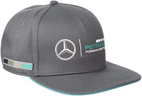 mercedes-amg-petronas-cappellino-formula-1-colore-grigio-taglia-unica