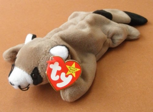 TY Beanie Babies Ringo the Raccoon Plush Toy Stuffed Animal - 1