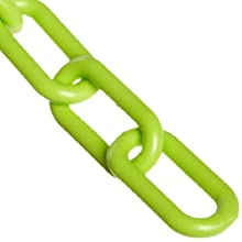 "Mr. Chain Plastic Barrier Chain, 1.5"" Diameter"