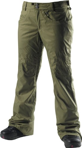 Special Blend Dash Ski Snowboard Pants Burnt Greens Womens Sz M